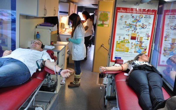 Akcija dobrovoljnog davanja krvi Centar Nis - slika 2