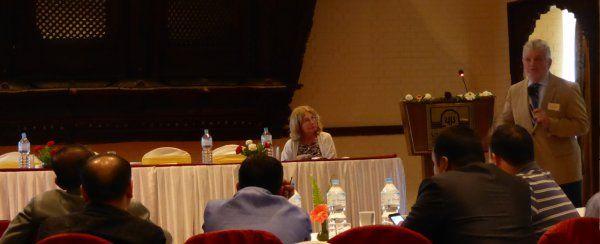 Jovan Popesku na konferenciji u Nepalu - 001