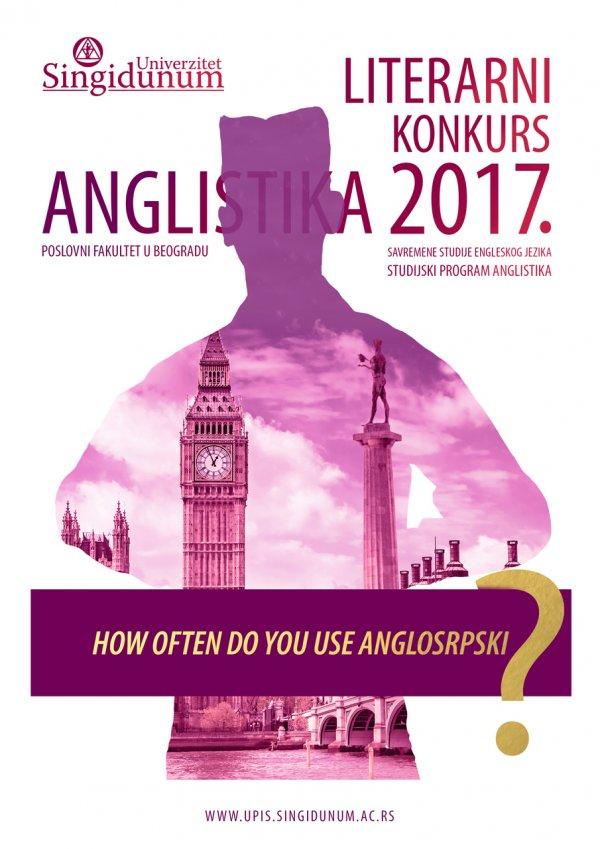 Anglistika literarni konkurs 2017
