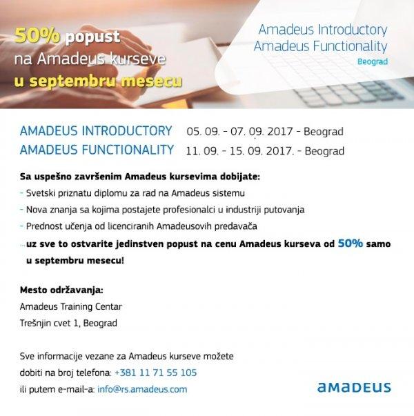 Kursevi Amadeus
