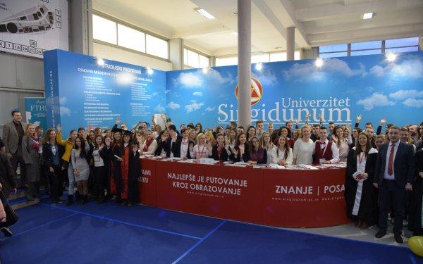 Strucna poseta studenata Sajmu turizma u Beogradu - 1