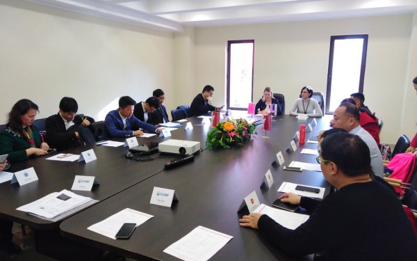 Chinese delegation visits Singidunum University -4