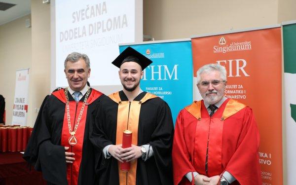 Održana svečana dodela diploma i sednica kolektiva Univerziteta Singidunum - 2