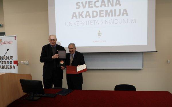 Održana svečana dodela diploma i sednica kolektiva Univerziteta Singidunum - 4