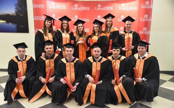 Održana svečana dodela diploma i sednica kolektiva Univerziteta Singidunum - 5