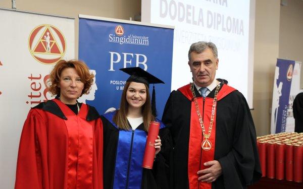 Održana svečana dodela diploma i sednica kolektiva Univerziteta Singidunum - 7