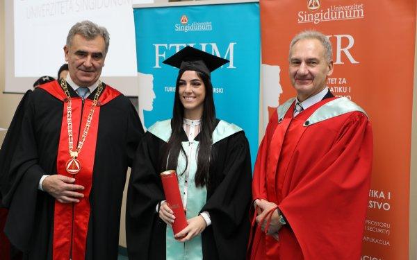 Održana svečana dodela diploma i sednica kolektiva Univerziteta Singidunum - 8