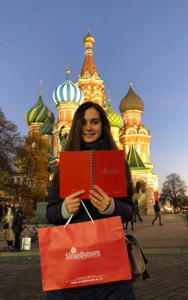 Naši studenti: Elizaveta Mihailova, Rusija - 2